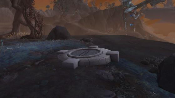 Un Téléporteur ancien inactif en Korthia - World of Warcraft
