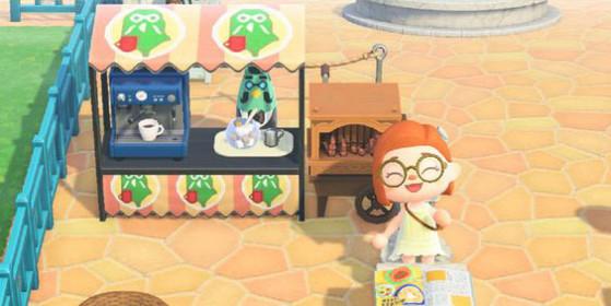…ou d'une tenue au motif personnalisé. - Animal Crossing New Horizons