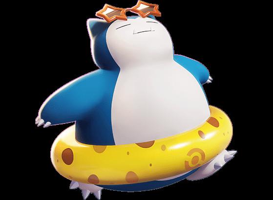 Beach Style Ronflex :  350 Gemmes ou 18 tickets - Pokemon Unite