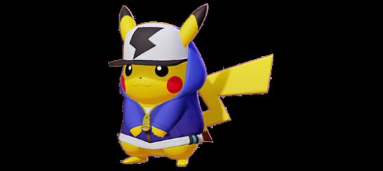 Hip-Hop Style Pikachu : Récompense du Battle Pass payant (niveau 1) - Pokemon Unite