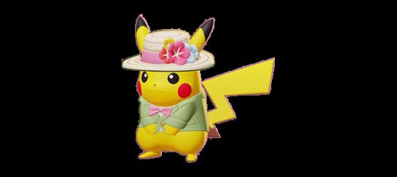 Fashionable Style Pikachu : 400 Gemmes - Pokemon Unite