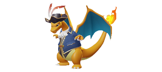 Captain Style Dracaufeu : 1200 Gemmes - Pokemon Unite