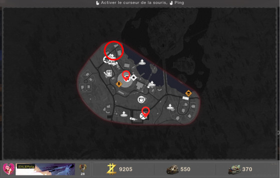 Emplacements de l'orbe à déplacer vers le pont de Sanatorium - Call of Duty Black Ops : Cold War