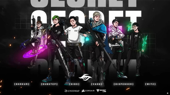 Valorant : Team Secret recrute les ex-Bren Esports au complet !