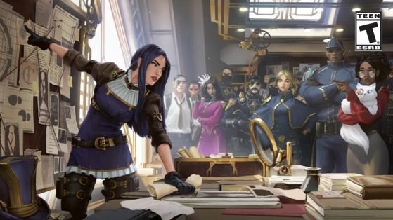 Caitlyn version Legends of Runeterra - League of Legends