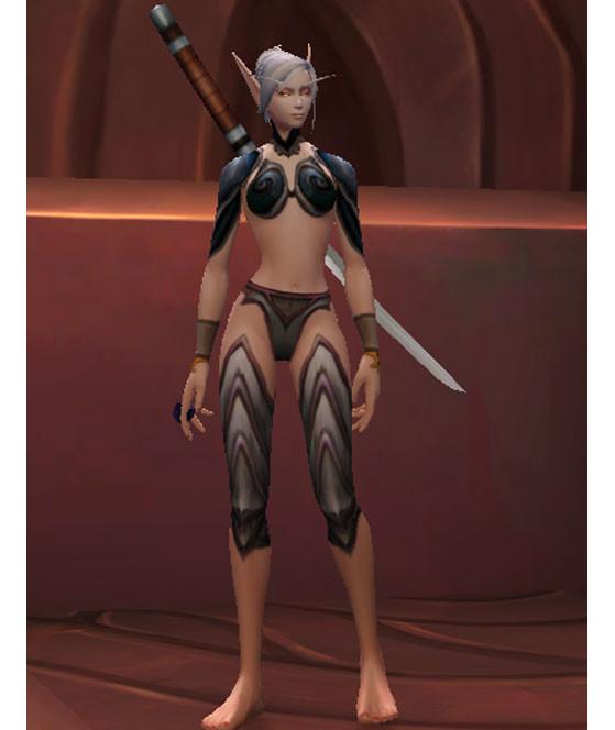 ... Bien différentes selon le sexe du personnage - World of Warcraft