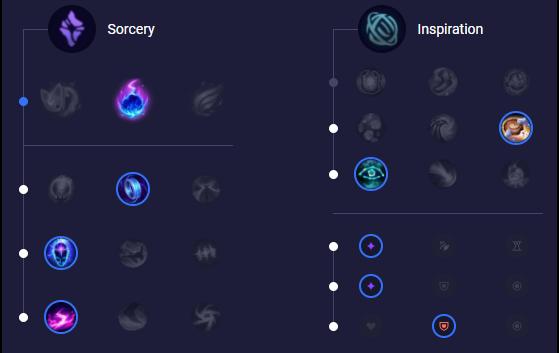Runes pour Ziggs Mid - League of Legends