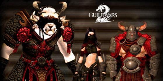 Armures raciales dans Guild Wars 2