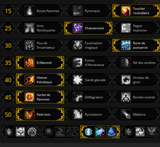Builds Multicible / Mythique + - World of Warcraft