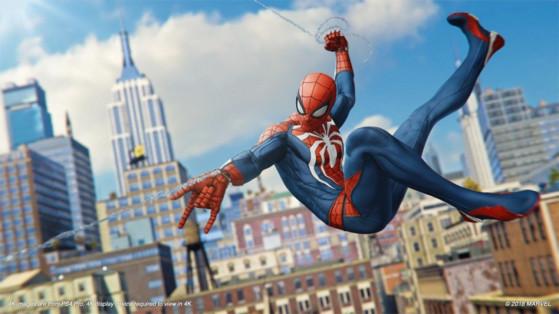 Spiderman PS4 : Test
