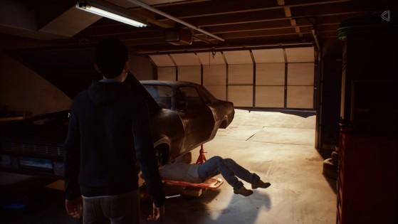 Esteban prépare une voiture pour les 18 ans de Sean - Top Jeux