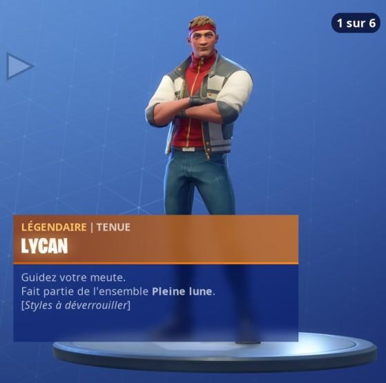 Fortnite Lycan Skin Et Défis Millenium
