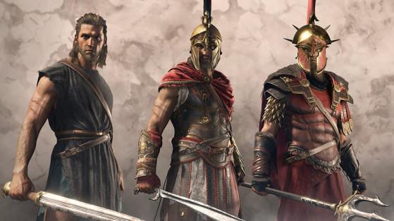 Assassin's Creed Odyssey : Position coffres légendaires, objets légendaires