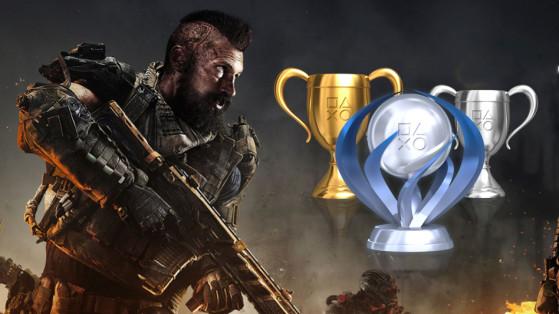 Black Ops 4 : trophées et succès PS4, Xbox One, PC