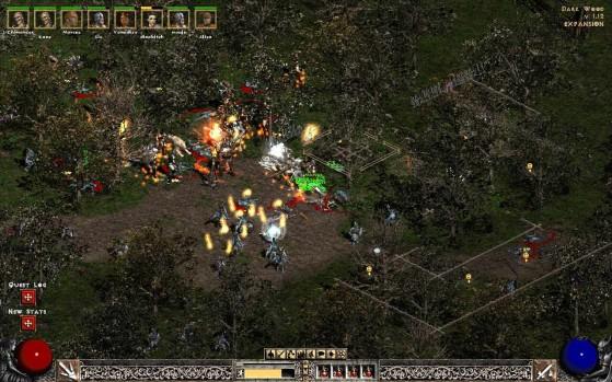 Diablo 2 avec un mod de résolution - Diablo 3