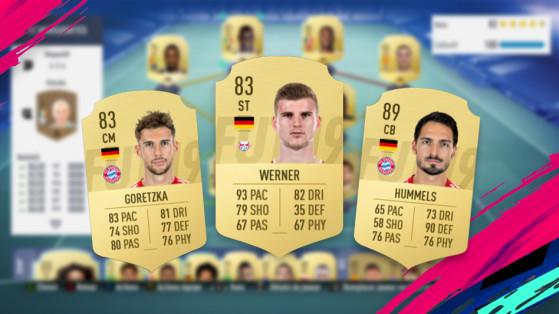 FUT 19 : Bundesliga, équipe à 100 000 crédits