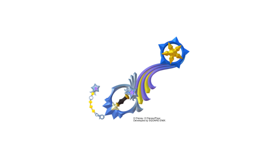 Shooting Star sous sa forme basique. - Kingdom Hearts 3
