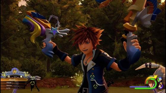Shooting Star sous sa forme Double arrow - Kingdom Hearts 3