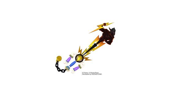 L'Olympus Keyblade sous sa forme basique. - Kingdom Hearts 3