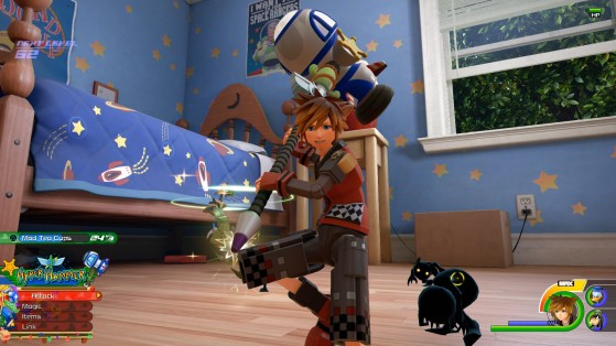 La forme Méga marteau. - Kingdom Hearts 3
