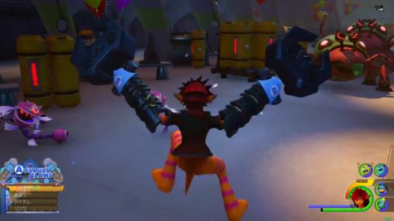 La forme Griffes fringantes de la Keyblade. - Kingdom Hearts 3