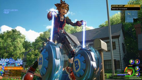 Les Yoyos jumeaux. - Kingdom Hearts 3