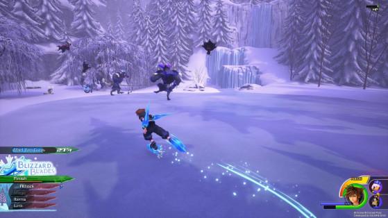 Les Blizzard blades - Kingdom Hearts 3