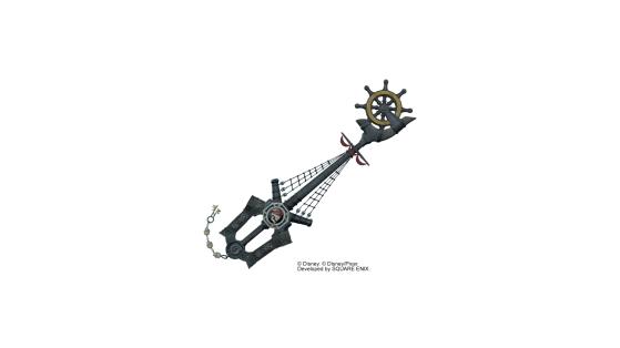Rudder of Fate sous sa forme de Keyblade. - Kingdom Hearts 3