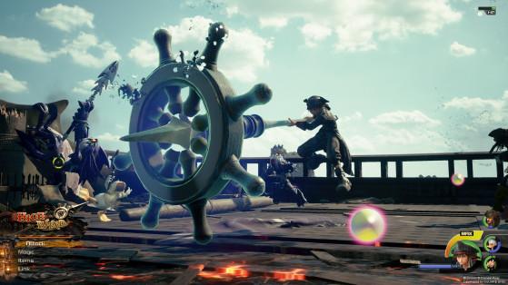 La forme High Wind. - Kingdom Hearts 3