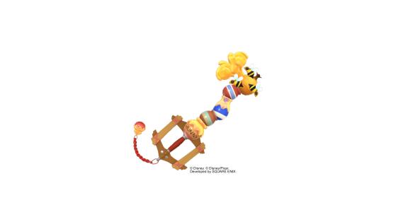 La Keyblade de la Forêt des Rêves Bleus sous sa forme basique. - Kingdom Hearts 3