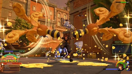 Première transformation de la Keyblade. - Kingdom Hearts 3
