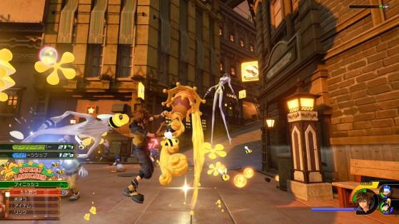 Transformation sous forme de canon de la lame. - Kingdom Hearts 3