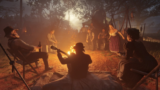 Guide Red Dead Redemption 2 : Améliorations du camp, upgrade, craft
