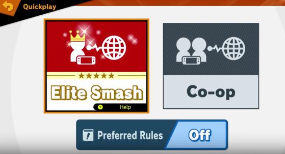 Le mode VIP - Super Smash Bros. Ultimate