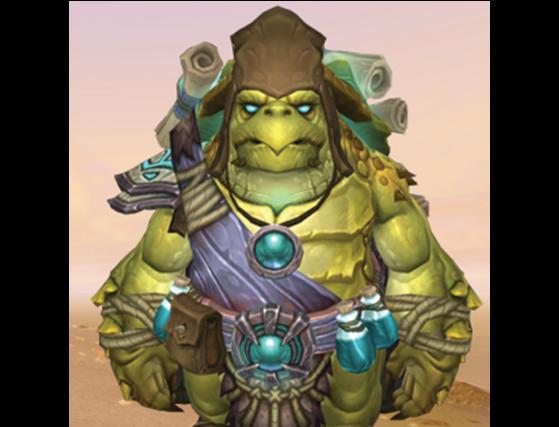 Sage aux parchemins Nola - World of Warcraft