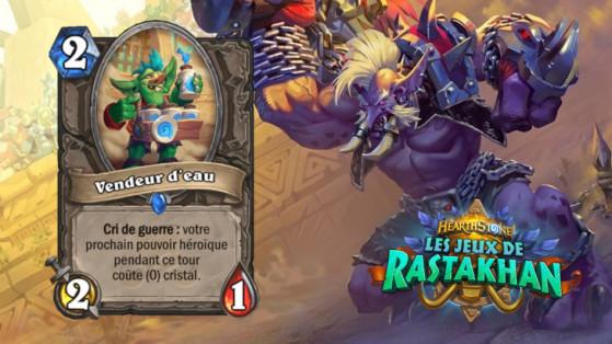 Hearthstone Les Jeux de Rastakhan : Waterboy