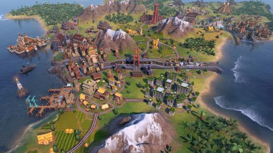Le rêve des joueurs de Civ, un canal - Civilization 6