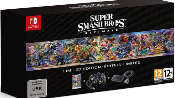 Super Smash Bros Ultimate : édition collector, limitée