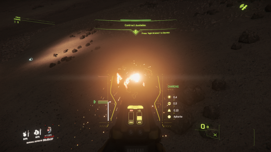 Puissance du laser au niveau de charge optimale - Star Citizen