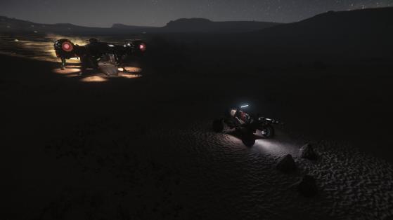 Miner la Nuit - Star Citizen