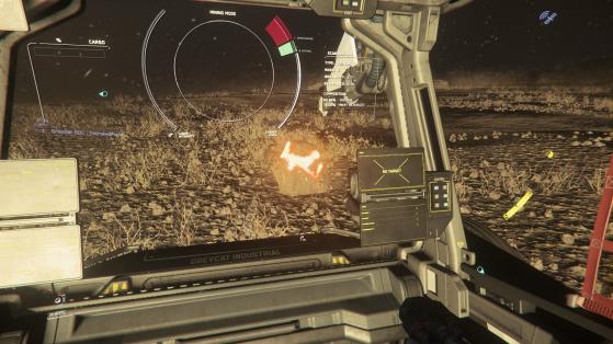 On baisse ou on coupe la puissance du laser elle va se briser - Star Citizen