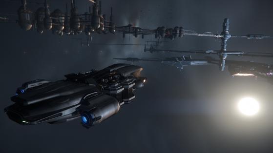 Le Prospector peut miner dans l'espace. - Star Citizen