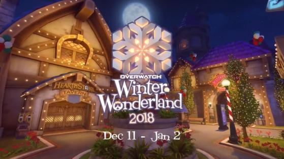 Overwatch : événement hiver, noel 2018, féerie hivernale, skins, date
