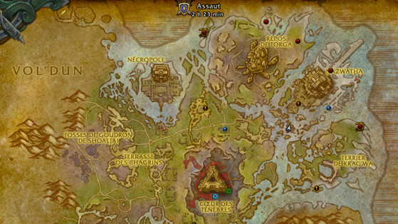 Expéditions d'Assaut de la Horde en Nazmir - World of Warcraft