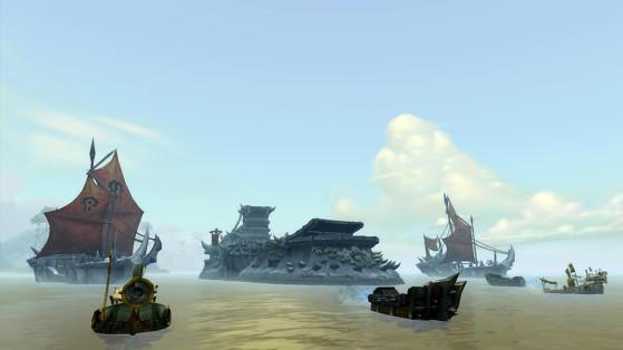 Déploiement des troupes de la Horde en Nazmir - World of Warcraft