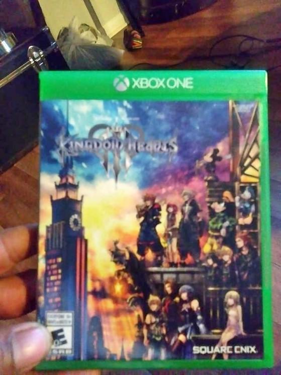 Photo prise par le voleur des exemplaires. - Kingdom Hearts 3
