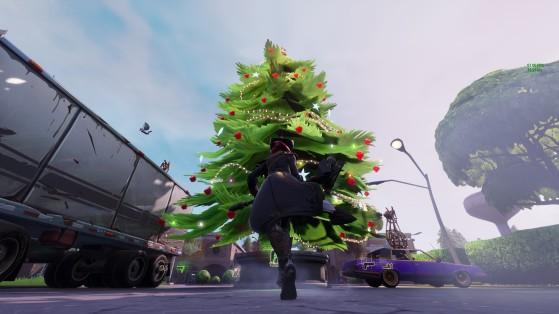 Fortnite : les sapins de Noël