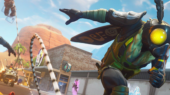 Fortnite : patinoire, mode temporaire