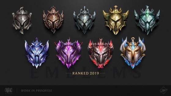 Quel rang visez-vous cette saison ? - League of Legends
