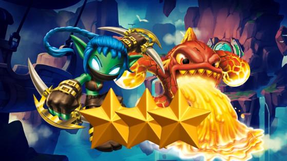 Skylanders Ring of Heroes : Tier list Nat 3, meilleurs monstres